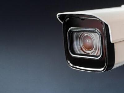 מצלמות אבטחה באזור
